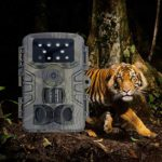 XINGX Trail Camera,1080P Hunting Game Camera with Night Vision Motion Activated,Waterproof Wildlife Scouting Hunting Cam with 120°Wide Angle Lens for Wildlife Watching