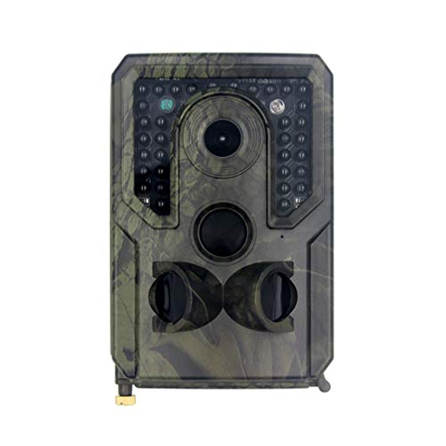 Yardwe 1080P Waterproof Hunting Game Camera Night Vision Camera for Outdoor Monitoring (Without Battery)