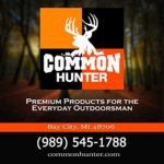 Common Hunter SD Card, Premium 8GB Class 10 Fits Most Trail Cameras and Game Cameras, Works With All Android and iPhone Trail Camera Viewers