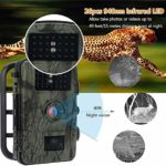 KDKDA Trail Camera Wildlife Camera Night Detection Game Camera Time Lapse Timer Waterproof Design