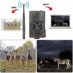 KTYX Cellular Trail Camera – 16MP 1080P Game Hunting Camera with 2.0′ LED Night Vision Motion Activated for Deer Hunting, Security IP65 Waterproof Hunting Camera