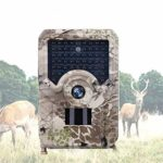 KTYX Trail Camera,12MP 1080P Mini Hunting Cam Motion Activated Night Vision No Glow IR LED IP56 Waterproof Cam for Wildlife Scounting Home Security Outdoor Surveillance Hunting Camera