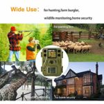 ScoutGuard Trail Game Camera 24MP with Night Vision Motion Activated 1080P Hunting Cameras with no Glow and Upgraded Waterproof IP66 for Outdoor Wildlife Watching Home Farm Security (Green-24MP)