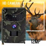 Trail Camera,Waterproof HD Wildlife Camera USB HD Night Vision Motion Activated Outdoor Wildlife Cam with 120° Wide Angle Lens for Wildlife Monitoring Trail Photo