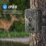 Suntekcam Trail Camera WiFi 20MP 1080P Game Camera with Night Vision Motion Activated Outdoor Scouting Wildlife Hunting Camera IP66 Waterproof