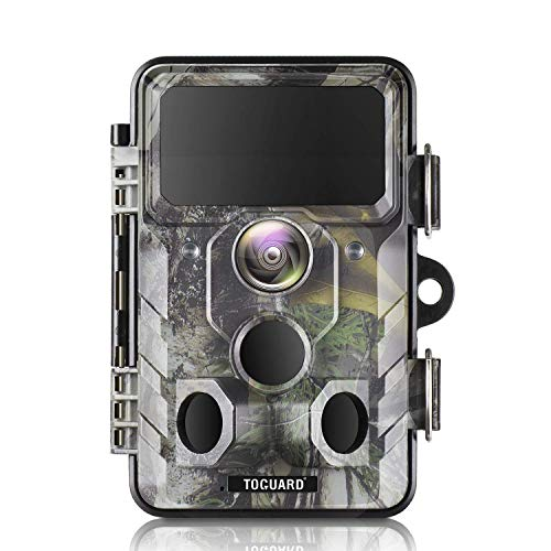 TOGUARD WiFi Trail Camera 20MP 1296P Hunting Camera with Night Vision Motion Activated IP66 Waterproof for Outdoor Wildlife Game Camera