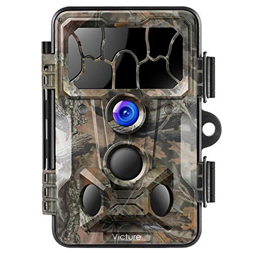 Victure Trail Game Camera 20MP with Night Vision Motion Activated Waterproof and 130° Detection Hunting Camera Trap 1080P IP66 for Outdoor Wildlife Monitoring