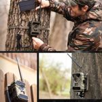 CreativeXP 3G Cellular Trail Cameras   AT&T WiFi Full HD Wild Game Camera with Night Vision for Deer Hunting, Security   Wireless Waterproof and Motion Activated   Tree Mount and Accessories Included