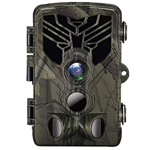 Suntekcam Trail Camera 24MP 1080P IP66 Waterproof Game Camera for Wildlife Monitoring with 2.4″ LCD 120° Detection Motion Activated Night Vision Hunting Camera