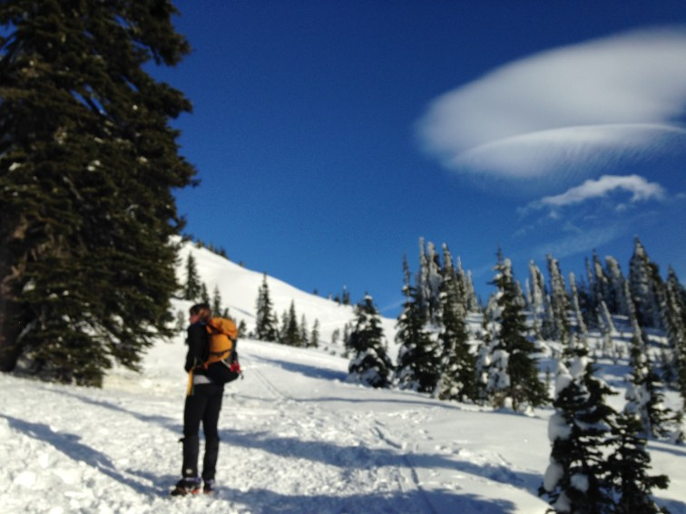 What a day! And some amazing lenticular clouds too!