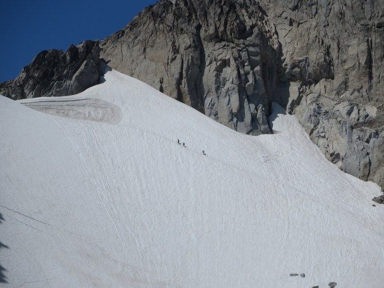 The studs in our group heading up Dragontail
