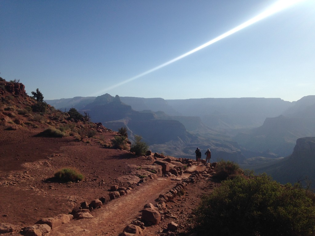 The views became grander and grander!