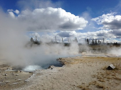 The Ojo Caliente in the Lower Geyser Basin of Yellowstone