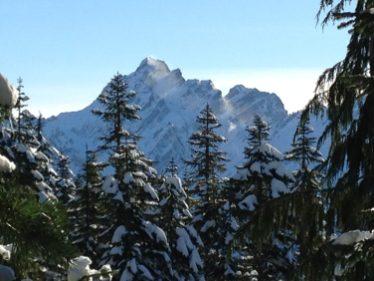 Spindrift - snow