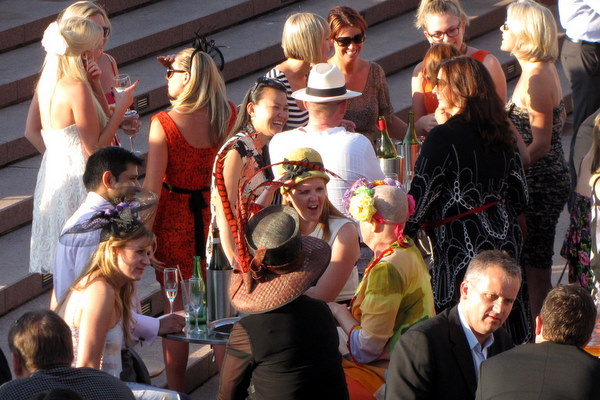 Fancy hats for the Melbourne Cup