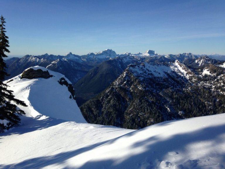 Finally at the summit of Mount Dickerman!