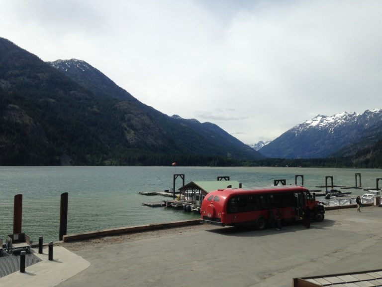 The Stehekin Landing and shuttle