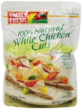 Valley Fresh Chicken Cuts: a great way to pack some protein on the trail!