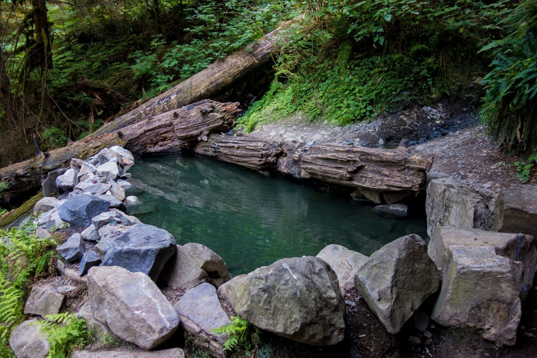 Washington State Hot Springs - TrailChick