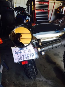 TW200 bikemaster mirrors 0949
