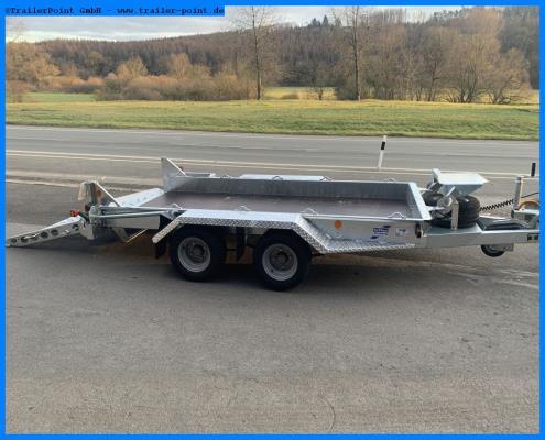 Ifor Williams - GH94 Rampe 280x131cm 3,5t. - Lagerfahrzeug