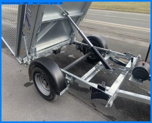Ifor Williams - TT2012 198x122 1,5t. - Lagerfahrzeug