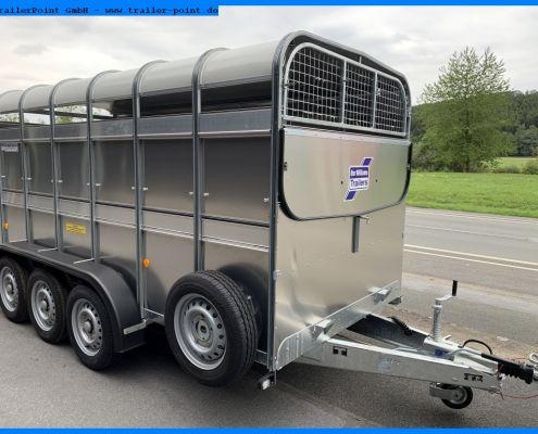 TA510 182cm hoch - FronttürTA510G 14x6 Tridem mit Frontklappe