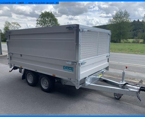 Twin Trailer TT27-30 80cm Seitenwand und Frontgitter