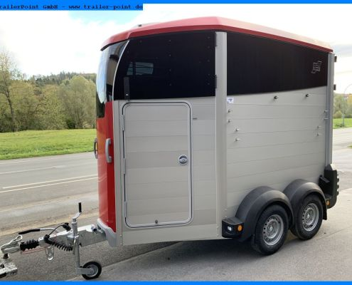Ifor Williams HBX403, rot