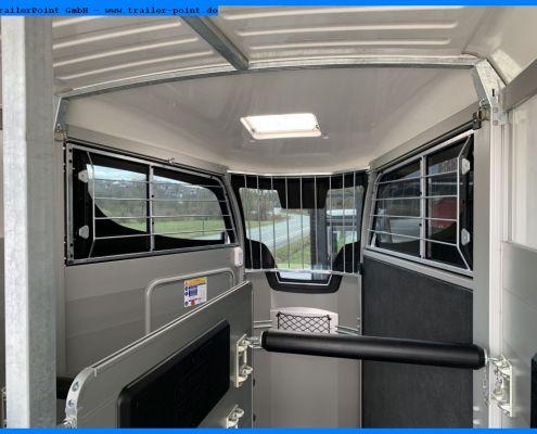 Ifor Williams HBX511, Innenraum