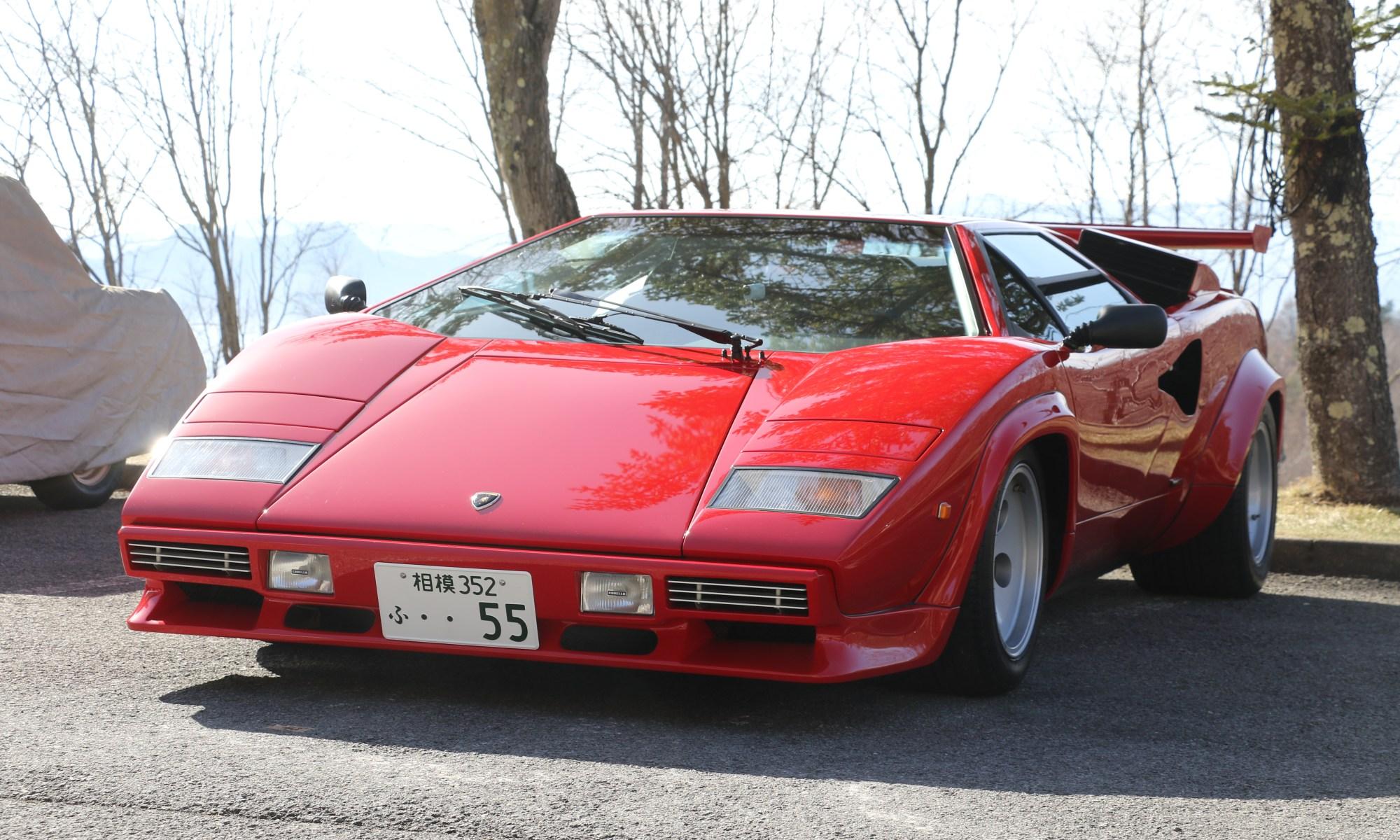 Lamborghini Countach Quattro Valvole Coppa de Koumi by Disco-4@東京