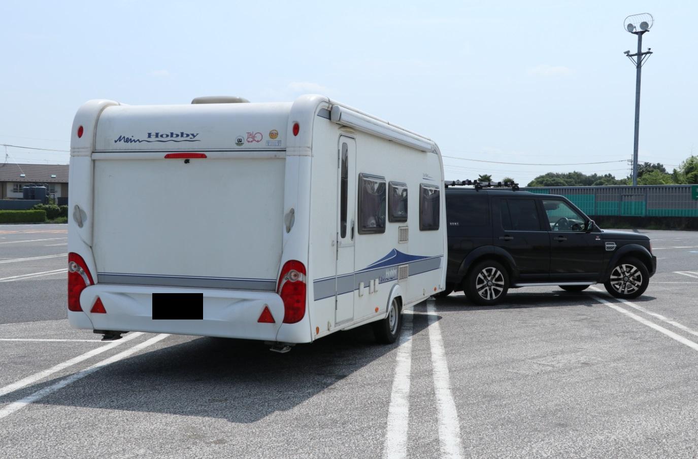 リアオーバーハング, オーバーハング, rear overhang, overhang, caravan, camping trailer, キャンピングトレーラー,