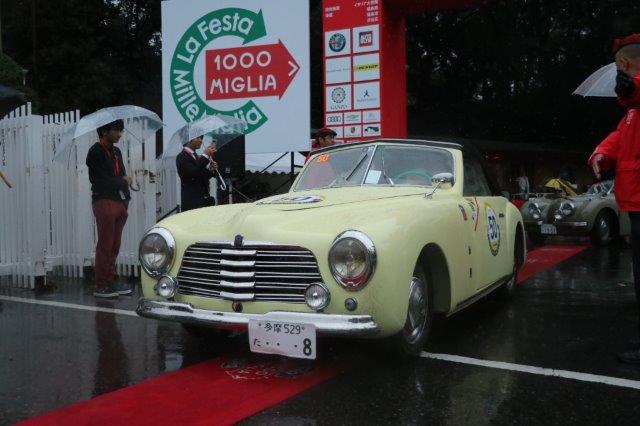 La Festa Mille Miglia, クラシックカー, ラフェスタミレミリア, ラリー, 明治神宮, Simca 8 Sport Cabriolet, シムカ, Simca, classic car rally,