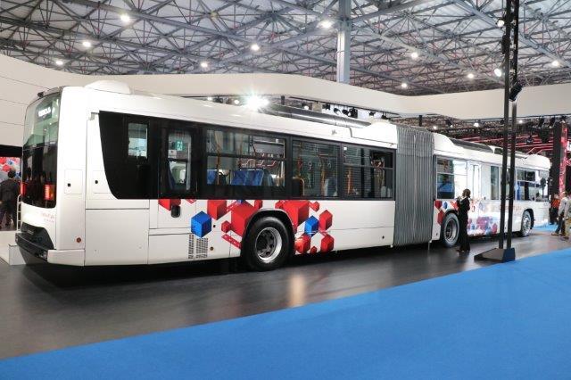 東京モーターショー, バス, 連接バス, ハイブリッド, tokyo motor show, bus, connected bus, hybrid bus,