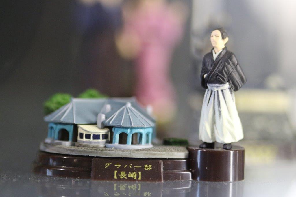 figure, figure museum, kaiyodo, miniature, フィギュア, 海洋堂. フィギュアミュージアム, 海洋堂フィギュアミュージアム, 黒壁, 龍遊館, 坂本龍馬, グラバー邸, グラバー園, しんかい6500, 黒船,
