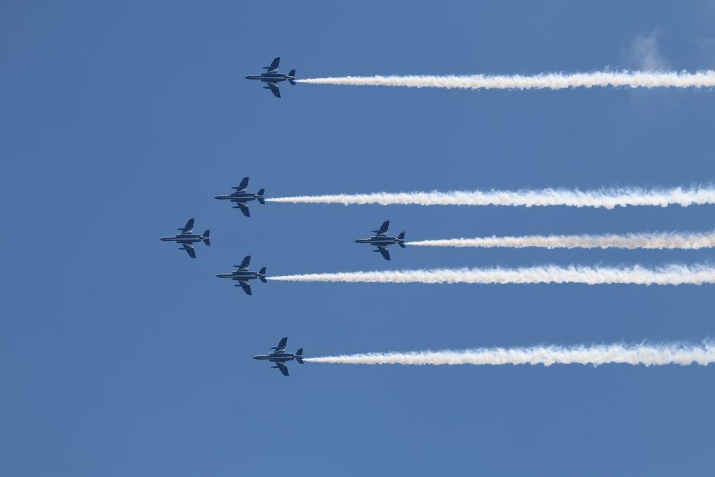 blue impulse, ブルーインパルス, 東京上空, 新型インフルエンザ, ブルーインパルス, 展示飛行,