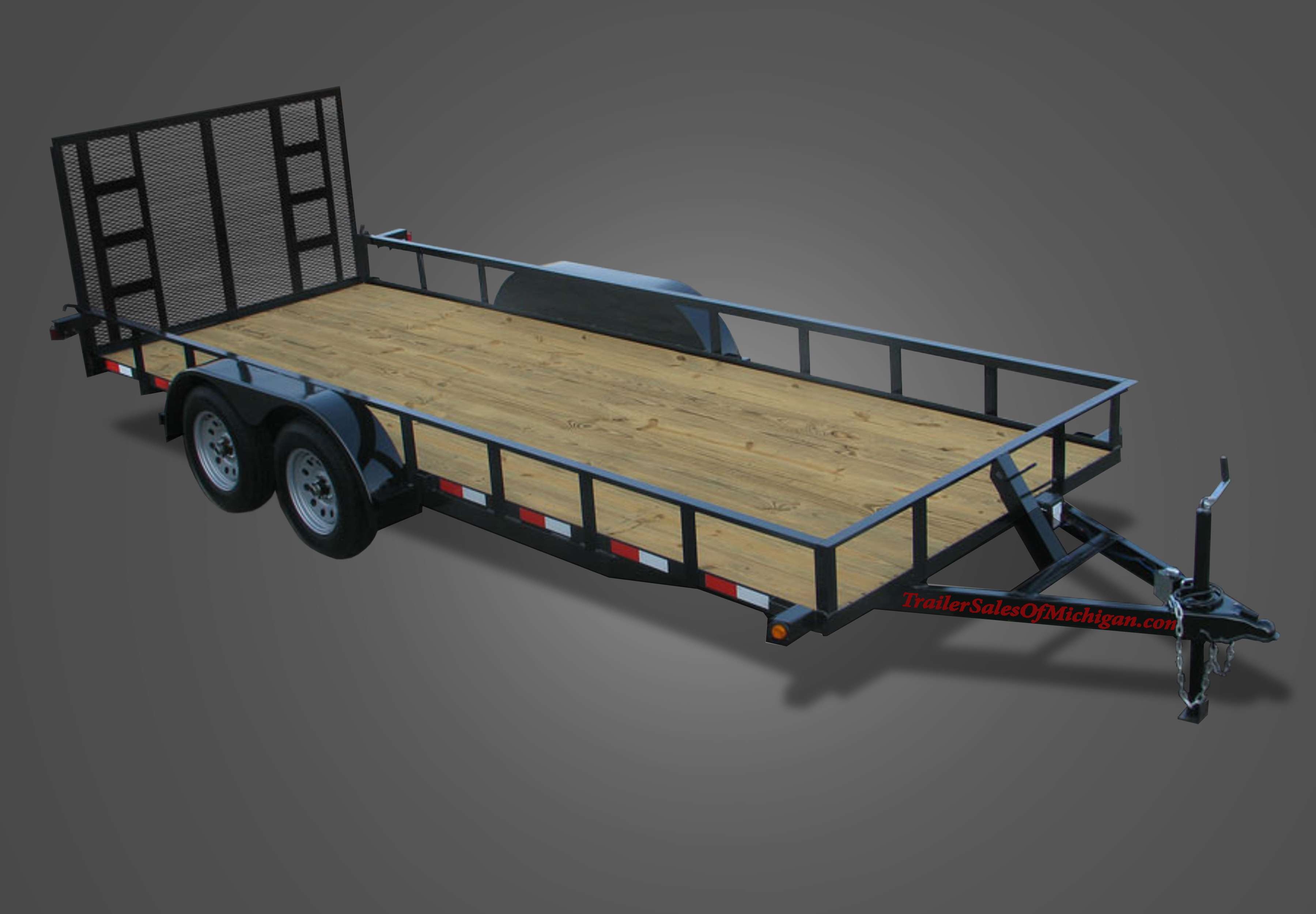 Tandem Axle Utility Trailers By Trailer Sales Of Michigan