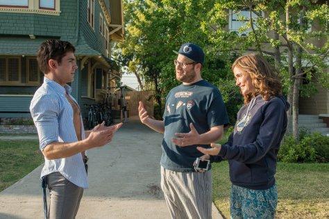 Zac Efron, Seth Rogen en ... in Bad Neighbors
