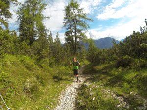 Hin und wieder wunderschöne Trails