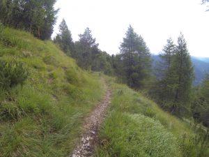 Aufstieg Rosskopf