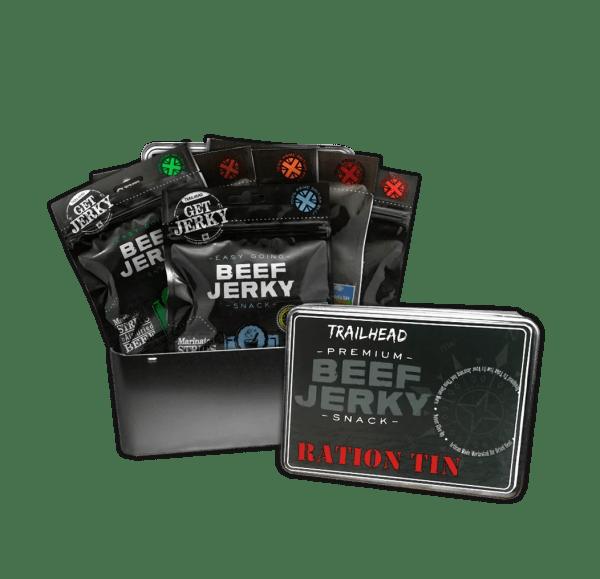 Original Six Beef Jerky Gift Tin