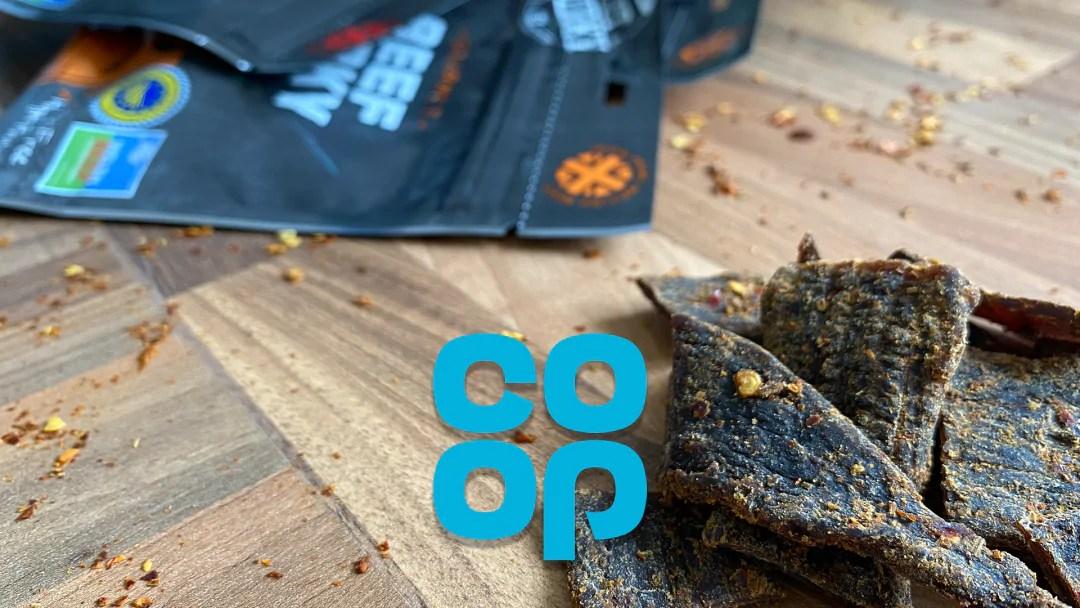 Welsh Beef Jerky now in Co Op stores