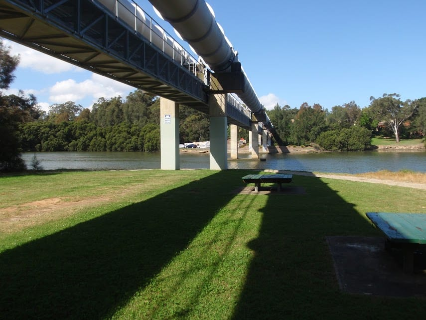 Davies Reserve to the Pipe Bridge Picnic Area