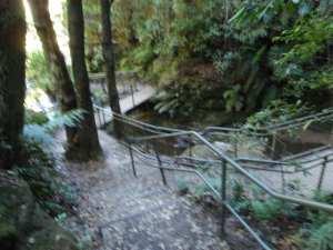 Echo Point to Leura Cascades