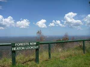 Heaton Lookout  to Heaton Gap