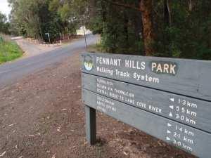 Pennant Hills Park loop (via Lane Cove River)