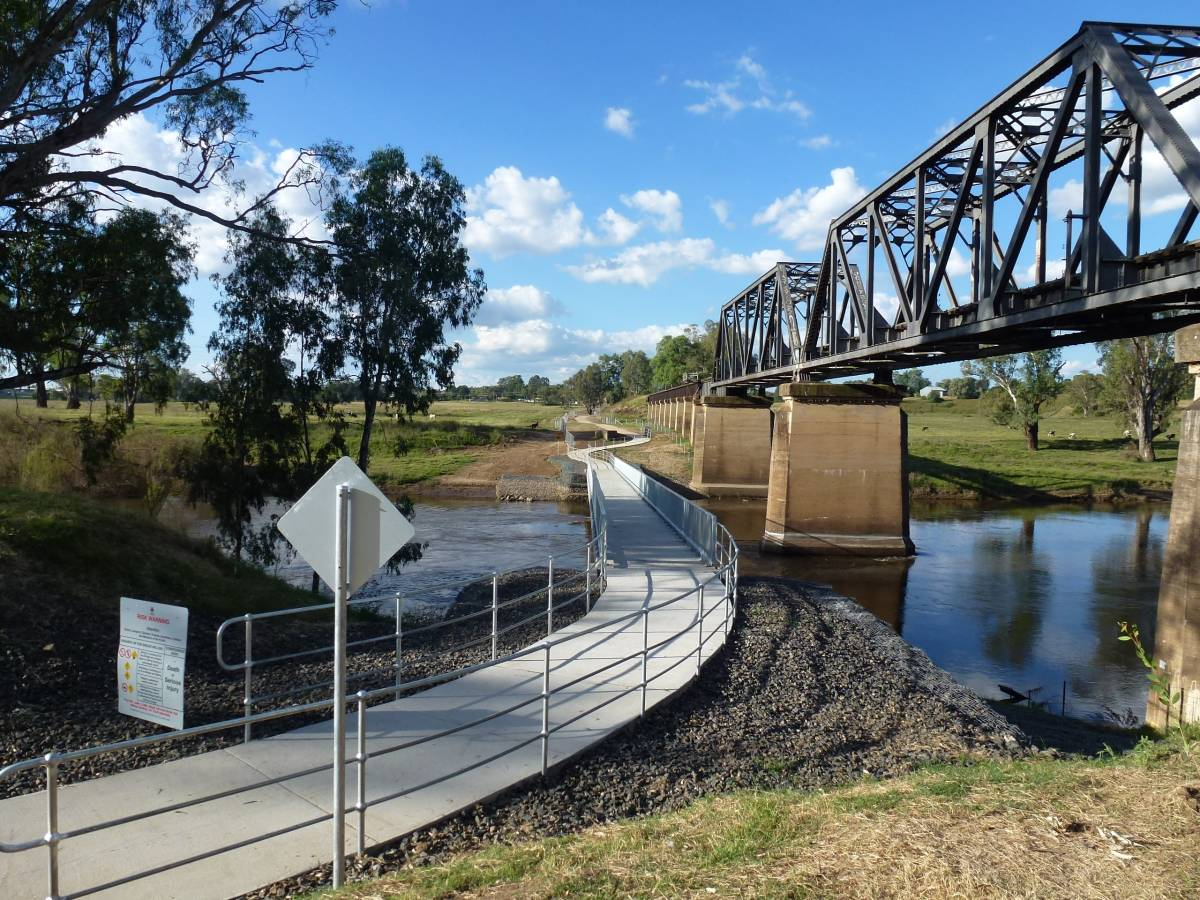 Dubbo Tracker Riley Cyclepath extension