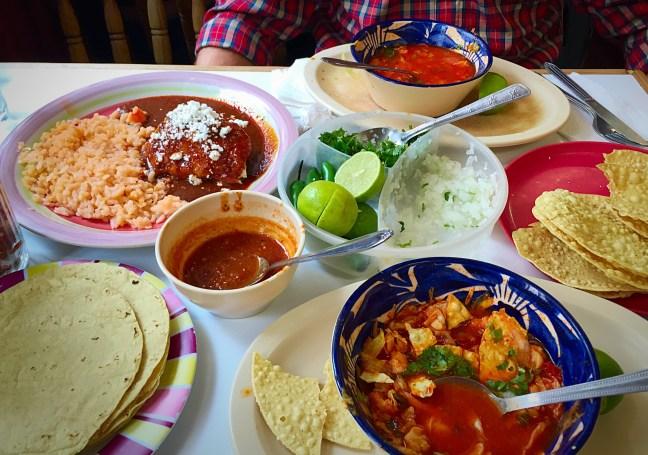 Food in Guanajuato, Mexico
