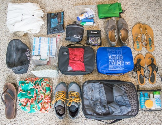 Packing List for South America