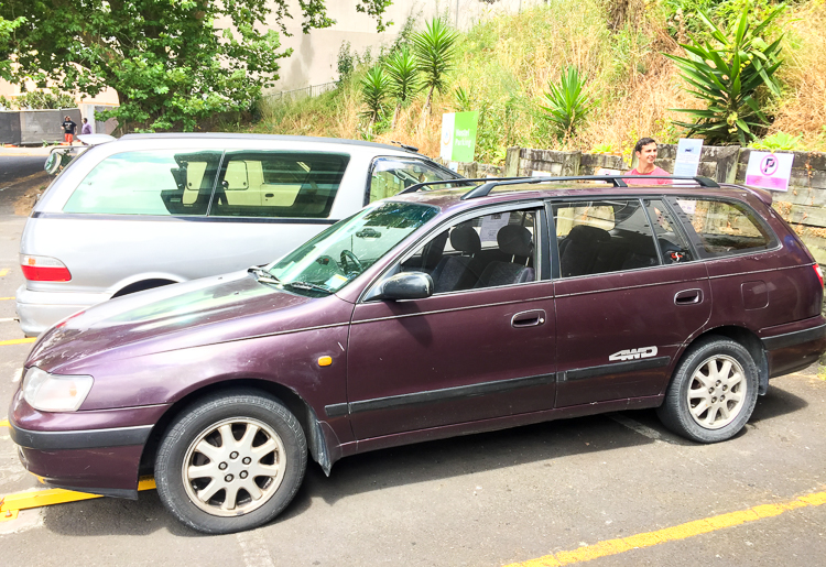 Buying a Car in Auckland for Backpackers - Trailing Rachel